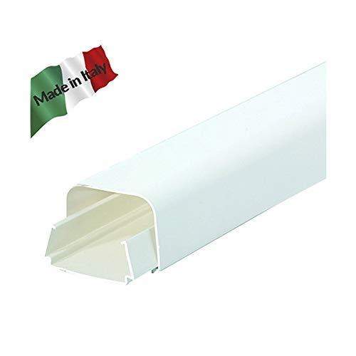 Vecamco Clima Plus, Canalina clima, Bianco, 65 x 50, Barra 2 m