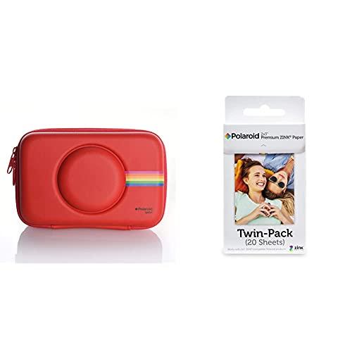 Polaroid Custodia In Silicone Per Fotocamera Digitale Istantanea Snap & Snap Touch & Premium Zink Carta Fotografica Compatibile Con Zip, Snap, Snap Touch, Z2300, Mint Instant Camera
