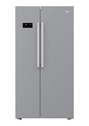 Beko GN163030XB Side-by-Side Kühl-/Gefrierkombination/No Frost/Edestahl-Optik gebürstet/Geruchsfilter / 0°C-Zone