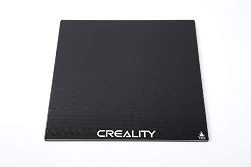 Hensych CREALITY - Plataforma de cristal templado 3D con superficie de construcción para impresora Ender-3/Ender-3 Pro/Ender-5/CR-20/CR-20 Pro, 235 x 235 x 3 mm
