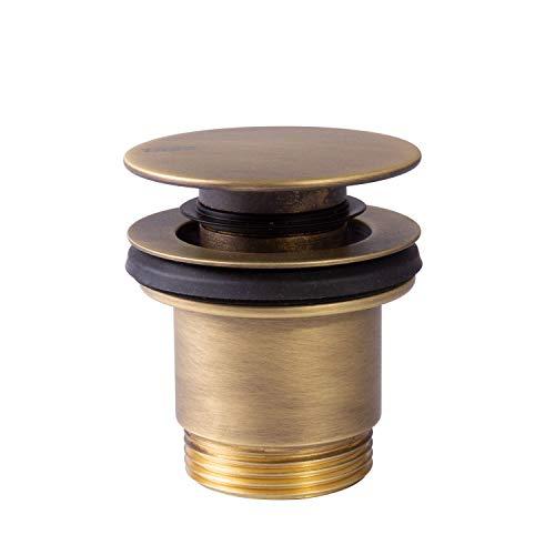 COMPLEMENTOS Válvula lavabo Tapón Ø 63 mm CLICK‑CLACK