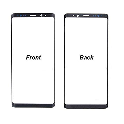 Outer Front Screen Glass Lens Replacement for Samsung Galaxy Note 9 N960F N960 Replacement Part Black -  TheCoolCube