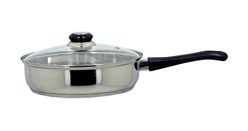 The Kitchenette 3721119 Sauteuse , Acier Inoxydable, Inox, 24 cm