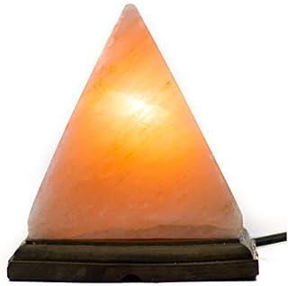 pirámide lámpara de sal 3 kg aprox. sal rosa del Himalaya