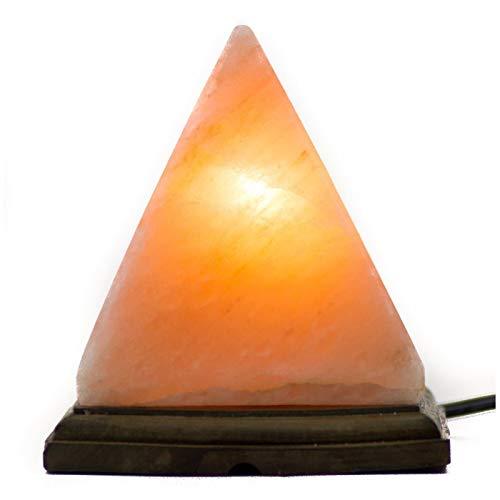 piramide lampada di sale 3 kg circa sale rosa del himalaya