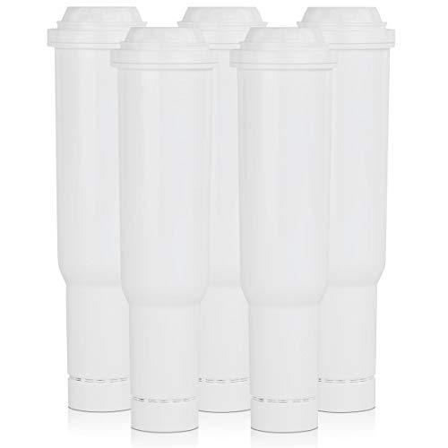 5x Scanpart waterfilter geschikt voor Jura koffiemachines. Claris wit.