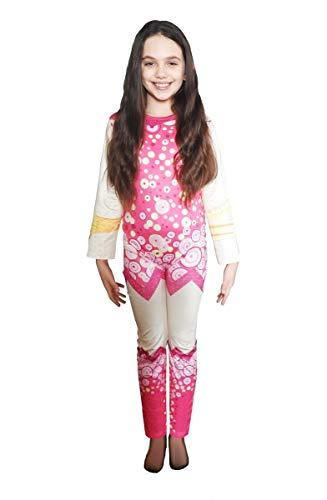 Taglia 110 6-7 anni - Costume Mia and Me - Bambina - Bimba - Travestimento Carnevale - Halloween - Cosplay - Accessori