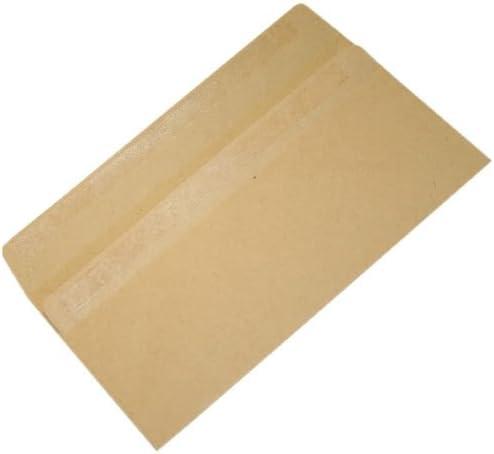 Indefinitely 500 x Manilla DL Envelopes 90gsm Genuine 110 Self-Seal No Window 220mm