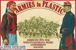 American Civil War Wheat's Louisiana Tiger Confederate Zouaves (20) 1/32 Armies in Plastic