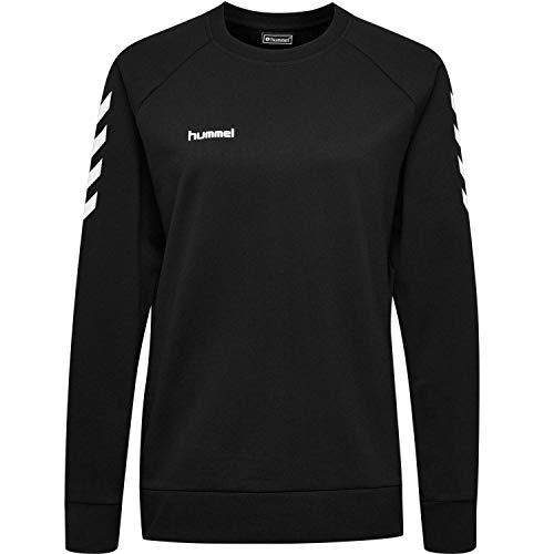 Hummel Damen Pullover Go Cotton Sweatshirt Woman 203507 Black L