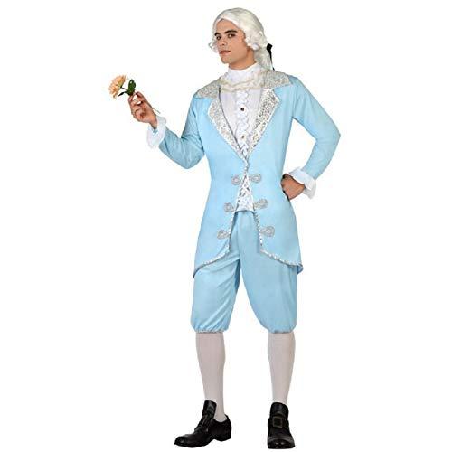 Atosa Déguisement Homme Marquis Bleu