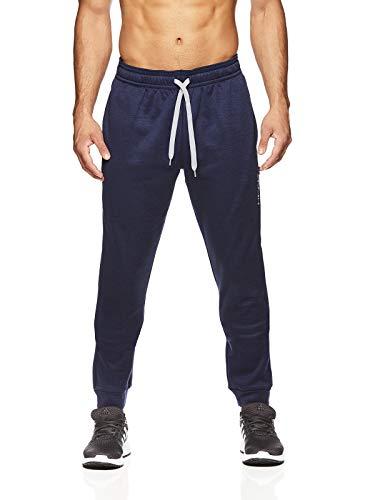 HEAD Men's Jogger Activewear Pants - Performance Workout & Running Sweatpants - Pro Black Heather, Large