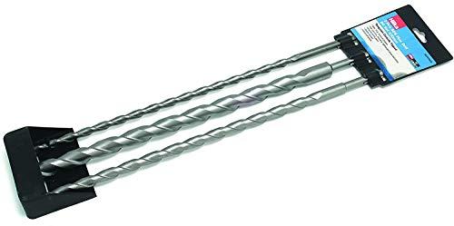 Hilka 3 x SDS Long Drill Bit Set 450mm