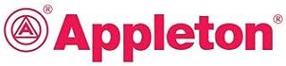 Appleton FSKJL6-15 Single Cover with Receptacle, 15 Amp, Aluminum, 250V, NEMA L6-15R, 1-3/8
