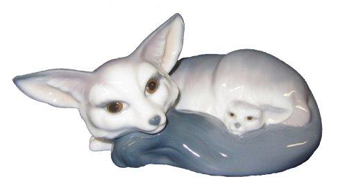 Figura porcelana lladro instinto de protección