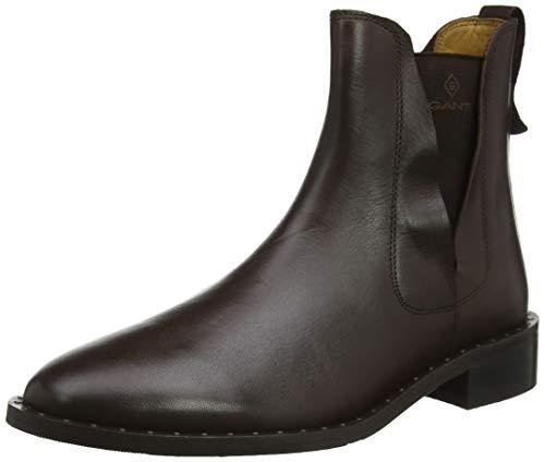 GANT Footwear Damen Hampton Chelsea Boots, Braun (Brown G420), 40 EU