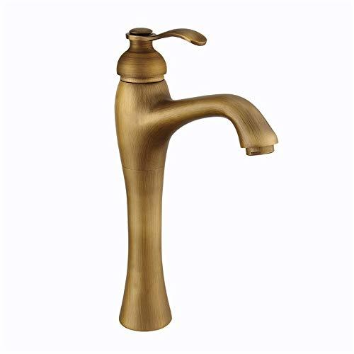 Eenvoudige badkamerinstallaties in industriële stijl van koper antieke keukenkraan badkraan wastafel waterkraan eengreepsmengkraan handdouche geborsteld koper