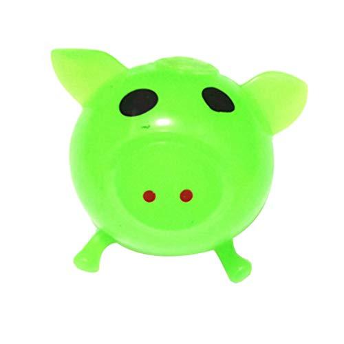 Juguete de la Descompresión,JiaMeng 1 Unids Jello Pig Cute Anti Stress Splat Water Pig Ball Vent Juguete Venting Sticky