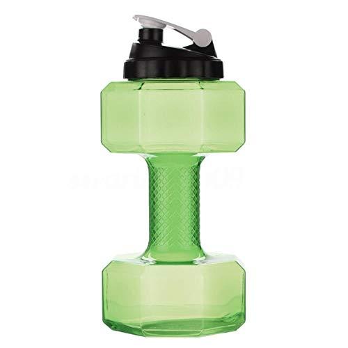 XMYNB Botella Creative 2.2L Portátil Forma De Mancuernas Forma De Agua Botella De Agua Gran Capacidad Deporte Hogar Waterbottle Regalo Shaker Fitness Jarra
