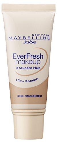 Maybelline New York Make Up, EverFresh Makeup, Langanhaltende Foundation, Nr. 40 Fawn, 30 ml