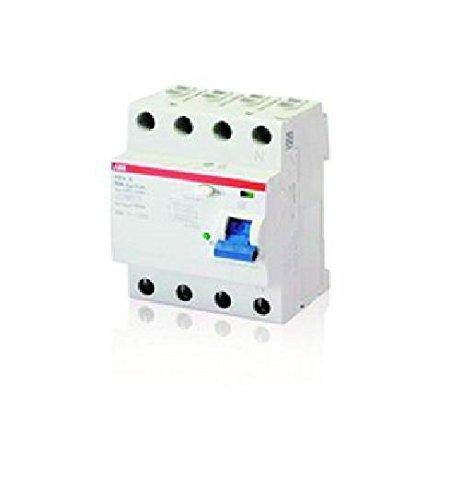 Preisvergleich Produktbild ABB F204B-40 / 0, 03 FI-Schutzschalter Typ B 4P, 40A, 30mA, kurzzeitverz., 3kA, 4TE 2CSF204592R1400 8012542358336