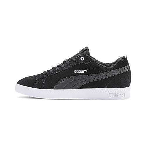PUMA Damen Smash Wns v2 SD Zapatillas, Schwarz Black Black, 42 EU