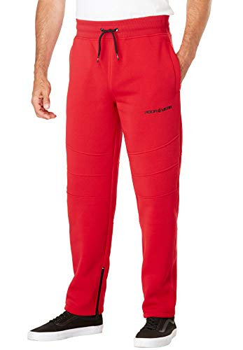 Rocawear Men's Big & Tall Imperial Sweatpants - Big - M, Red