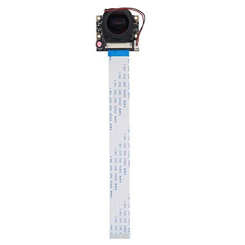 Tomanbery Módulo de cámara Cámara Módulo de cámara RPI de Alta sensibilidad Corte de Infrarrojos portátil -175 ° OV5647 Módulo de cámara Detección automática Módulo de cámara de 5MP (sin luz)
