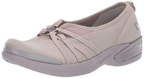BZees womens Niche Sneaker, Silver Cloud Mesh Fabric, 9 US