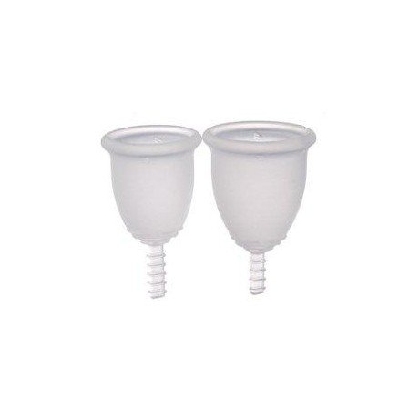 Fleurcup® cup menstruelle petite taille incolore…(pt)
