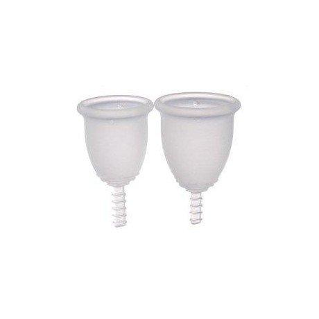 Fleurcup® Cup menstrual grande incoloro