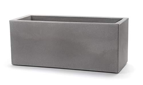 Teraplast Schio - Caja de 60 cm, diseño de florero