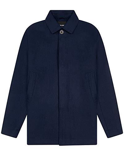 Lyle and Scott wollen jas voor heren, Donkere marine, XL