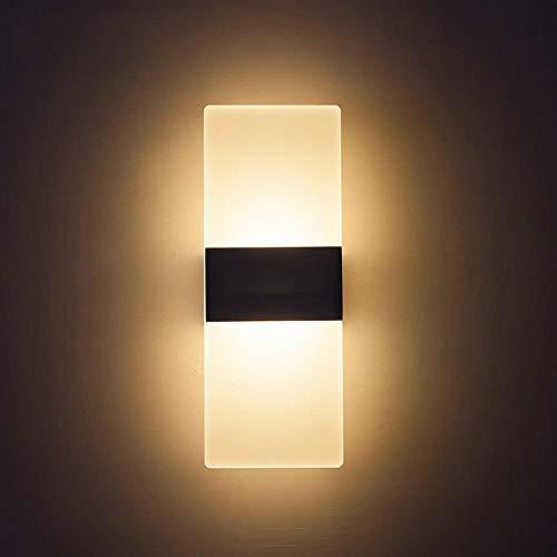 Slaapkamer nachtwandlamp acryl LED Hotel nachtwandlamp gangtechniek wandlamp moderne minimalistische lamp groothandel