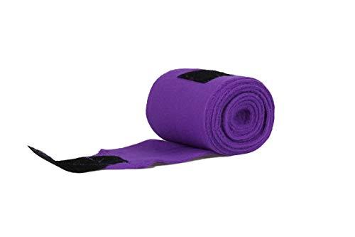 Arbo-Inox Fleecebandagen Bandagen 4 Stück 7 Farben (lila)
