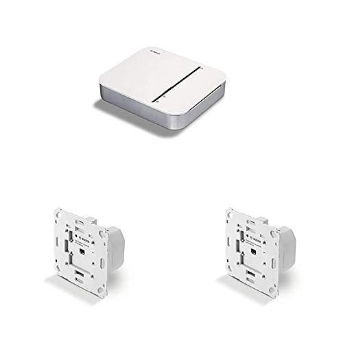 Bosch Smart Home Controller + Unterputz Lichtschalter + Unterputz Rollladen Steuerung