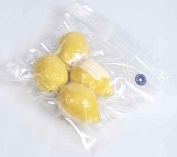 3 bolsas para alimentos al vacío, con válvula reutilizable de 22 x 20 cm