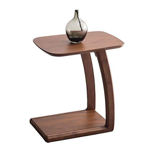 C Tabla C Mesa para Sofá Mini Mesa De Café Extraíble Mesa De Noche De Mesa Pequeña Y Moderna. (Color : Brown, Size : 57 * 33 * 52cm)