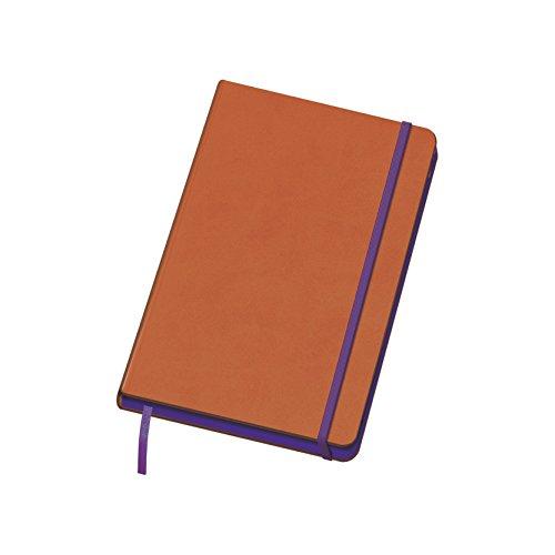 Dohe 10676 - Edge, cuaderno Vesta A5, color naranja
