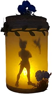 Peter Pan und Tinkerbell-Lampe, gedimmtes Licht für Ihr Zuhause.