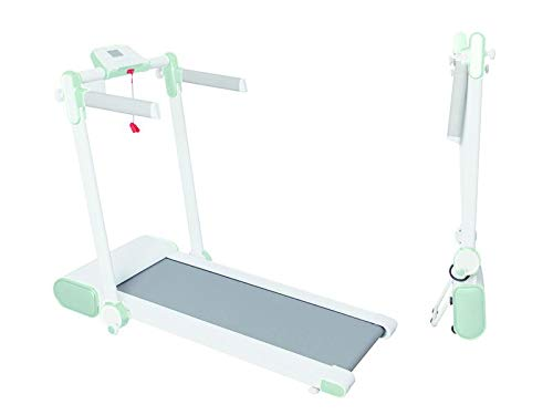 TECNOFIT Tapis Roulant Elettrico TFX 1.25 K Verde Salvaspazio Si chiude in 25 cm