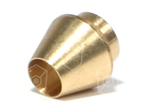 PEL Schneidring für Gasherd Electrolux für Gashähne PEL 21-22 Innen ø 4mm für Rohr 4mm Doppelkegelring