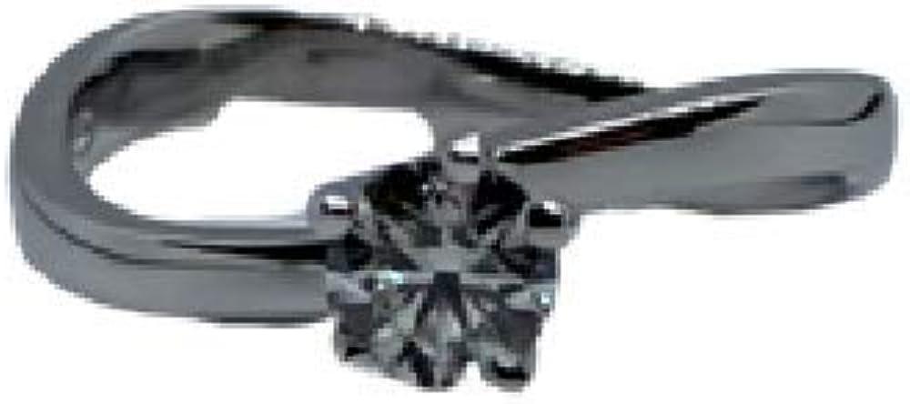 Chimento ,anello solitario per donna in oro 18 kt(3,2 gr) e diamanti 0,35 ct 1A4N0356G5140