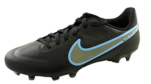 Nike Legend 9 Academy MG, Zapatos de fútbol (FG) Hombre, Black/Black-Iron Grey, 47 EU