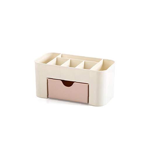 Cosméticos del maquillaje y joyas Organizador, maquillaje de almacenamiento de almacenamiento de cosmética caja apilable con cajones Vanidad Tabla baño encimera del escritorio de oficina organizador