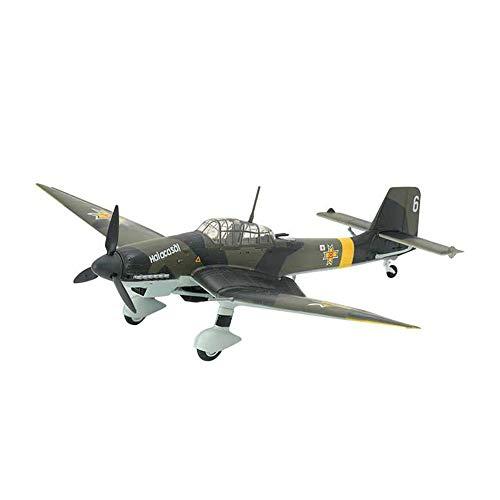 Military Fighter Puzzle Model Kits, 1/24 Scale Alemania Junkers Ju-87 STUKA Bomber Modelo De Plástico, 21.3 Pulgadas X 27.9 Pulgadas