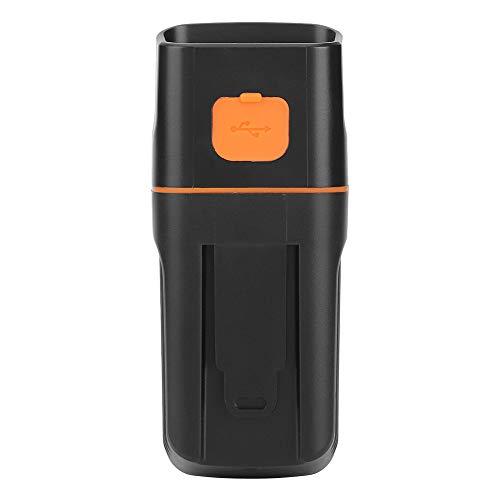 Emoshayoga Luz de Bicicleta Luz de Bicicleta Recargable USB 3 en 1 Faros Delanteros multifuncionales Luces traseras Carga 3 LED Luz Impermeable