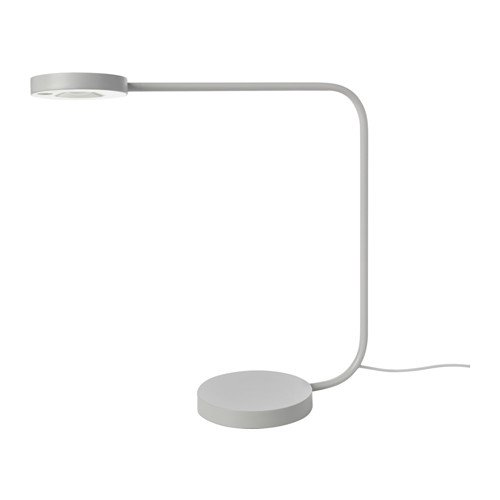 Ikea 003.499.05 Ypperlig - Lámpara de mesa LED, color gris