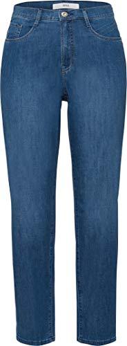 BRAX Caro S Ultralight Denim Jean Bootcut, Bleu (Used Regular Blue 26), W34/L32 (Taille Fabricant: 44) Femme