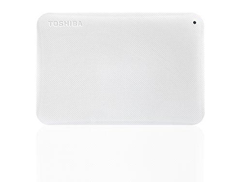 Toshiba Canvio Ready 1TB Externe Festplatte (6,4 cm (2,5 Zoll) USB 3.0) weiß
